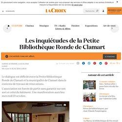 Les inquiétudes de la Petite Bibliothèque Ronde de Clamart