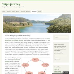 What is inquiry-based learning? « Chip's journey