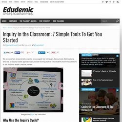 Inquiry in the Classroom: 7 Simple Tools To Get You Started