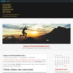 Guided Inquiry Design Process - Jessica Eschbach