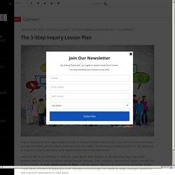 The 5-Step Inquiry Lesson Plan - Corwin Connect