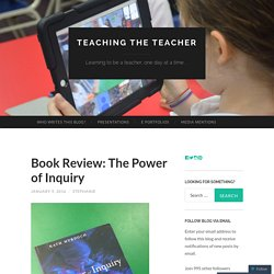 Book Review: The Power of Inquiry