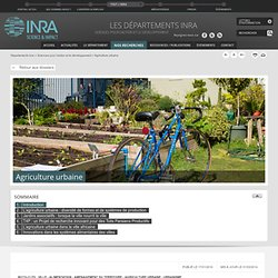 INRA 17/01/14 Agriculture urbaine.