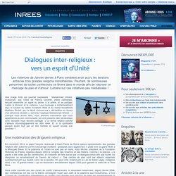 Dialogues inter-religieux : vers un esprit d'Unité