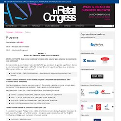 InRetail Congress - Programa