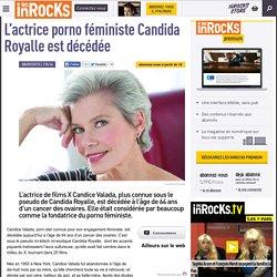 L'actrice porno féministe Candida Royalle est décédée