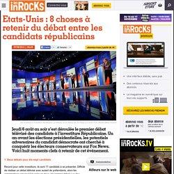Etats-Unis : 8 choses à retenir du débat entre les candidats républicains
