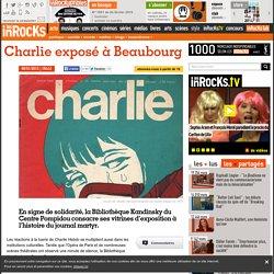 Charlie exposé à Beaubourg