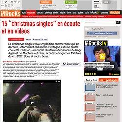 """15 """"christmas singles"""" en écoute et en vidéos : LesInrocks.com"""