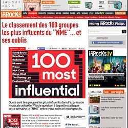 """Le classement des 100 groupes les plus influents du """"NME""""... et ses oublis"""