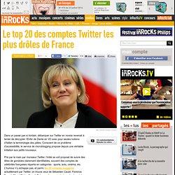 Le top 20 des comptes Twitter les plus drôles de France