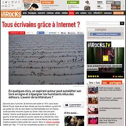 Tous écrivains grâce à Internet ?