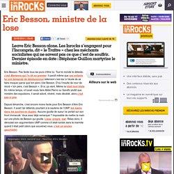 Eric Besson, ministre de la lose : LesInrocks.com