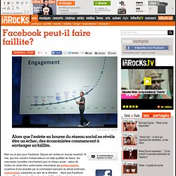 Facebook peut-il faire faillite?