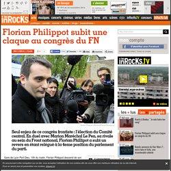 Florian Philippot subit une claque au congrès du FN