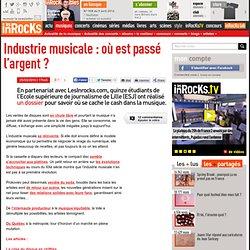 Industrie musicale : où est passé l'argent ? : LesInrocks.com