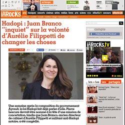 """Hadopi : Juan Branco """"inquiet"""" sur la volonté d'Aurélie Filippetti de changer les choses"""