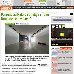 """Parreno au Palais de Tokyo : """"Une timeline de l'espace"""""""