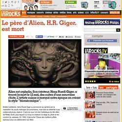Le père d'Alien, H.R. Giger, est mort