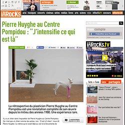 """Pierre Huyghe au Centre Pompidou : """"J'intensifie ce qui est là"""""""