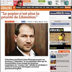 """""""Le papier n'est plus la priorité de Libération"""""""