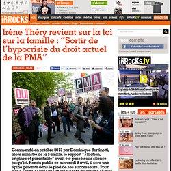 """Irène Théry revient sur la loi sur la famille : """"Sortir de l'hypocrisie du droit actuel de la PMA"""""""
