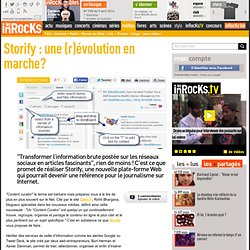 Storify : une (r)évolution en marche?