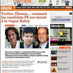 Twitter, Obama... comment les candidats PS ont résisté à la vague Aubry