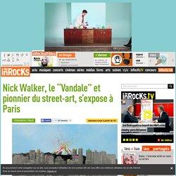 """Nick Walker, le """"Vandale"""" et pionnier du street-art, s'expose à Paris"""