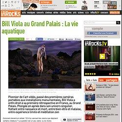 Bill Viola au Grand Palais : La vie aquatique
