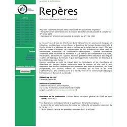 Repères - Archives