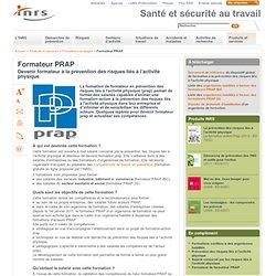 Formateur PRAP
