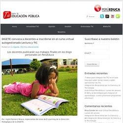 DIGETE convoca a docentes a inscribirse en el curso virtual autogestionado Lectura y TIC