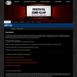 31/03 inscriptions compétition Ciné-Clap