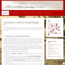 Inscription maritime et généalogie