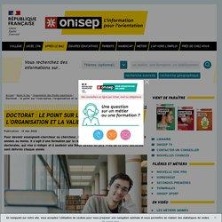 Doctorat : le point sur l'inscription, l'organisation et la validation - Onisep
