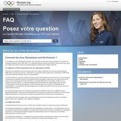 Inscriptions Olympic.org