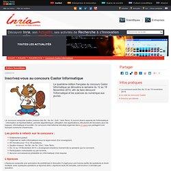 Inscrivez-vous au concours Castor Informatique