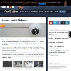 Insecam - L'oeil de Big Brother - Korben