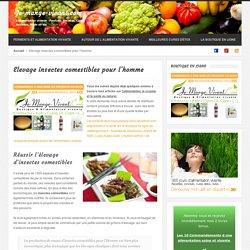 Insectes comestibles et Ecologie