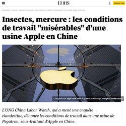 """Insectes, mercure : les conditions de travail """"misérables"""" d'une usine Apple en Chine - 23 octobre 2015"""