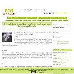 16 insecticidas, fungicidas y repelentes ecológicos para las plagas del huerto