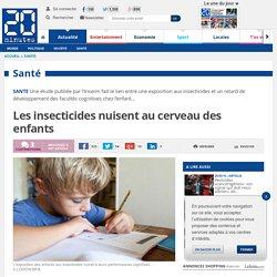 20MINUTES 09/06/15 Les insecticides nuisent au cerveau des enfants