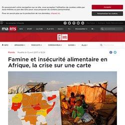 Famine et insécurité alimentaire en Afrique, la crise sur une carte - rts.ch - Monde