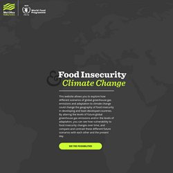 Food Insecurity & Climate Change – Met Office