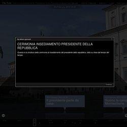 Cerimonia Insediamento Presidente Della Repubblica