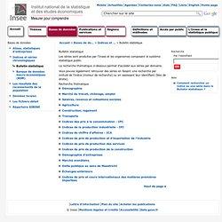 Bulletin statistique - Bulletin statistique