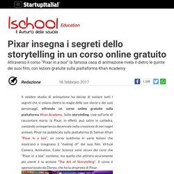 Pixar insegna i segreti dello storytelling in un corso online gratuito