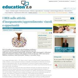 I BES nelle attività d'insegnamento/apprendimento: vincoli e opportunità - Politiche educative