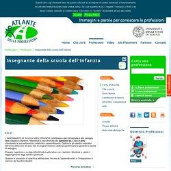 Insegnante della scuola dell'infanzia / Professioni / Home page - Atlante delle professioni